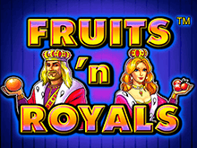 Автомат Fruits and Royals на деньги