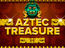Играть в автомат Aztec Treasure в Вулкане Удачи